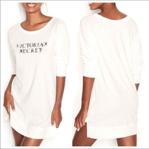 Victoria's Secret long sleeve sleep shirt size S